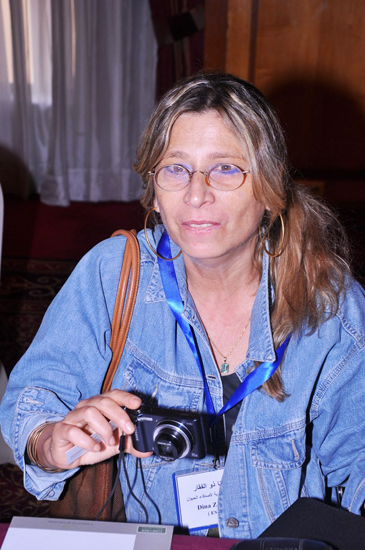 Dina Zulficar, leading Egyptian animal advocate