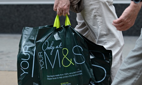 Marks and Spencer carrier bag