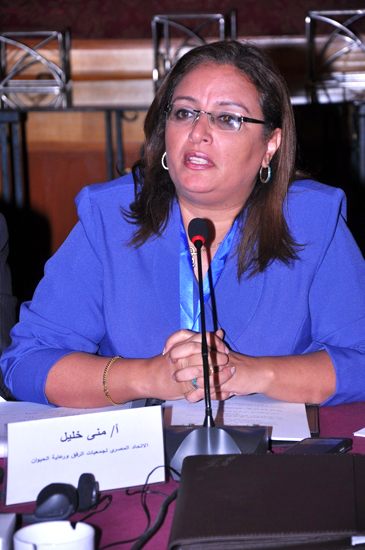 Mona Khalil, Chairperson of ESMA