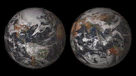 Earth Day 2015 global-selfie-NASA