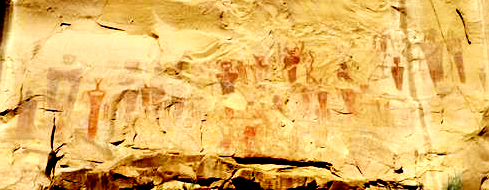 Detail of the Sego Canyon panel.