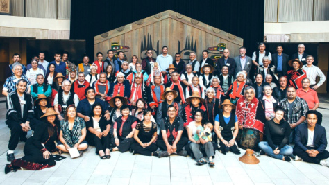 The Eagle Spirit Energy company meet with representatives of 30 First Nations over the weekend. (Eagle Spirit Energy)