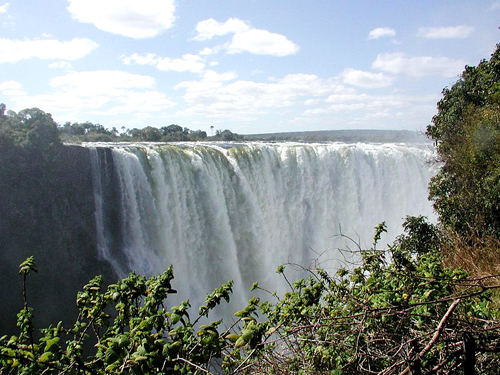 Victoria Falls, in Zambia.