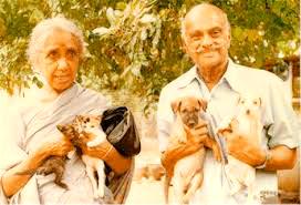 Mrs. Usha Sundaram and Captain Sundaram