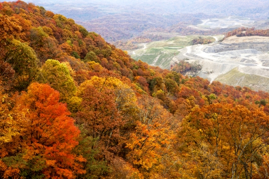 Alan Gignoux / Dreamstime.com / A coal mine in the forest of Appalachia.